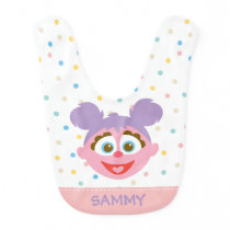 Baby Abby Cadabby Big Face | Add Your Name Bib