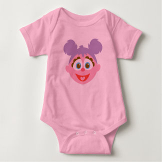 Baby Abby Cadabby Big Face Baby Bodysuit