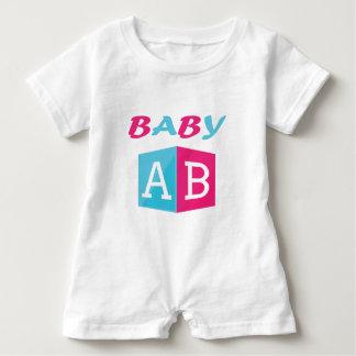 Baby ABC Block Baby Romper