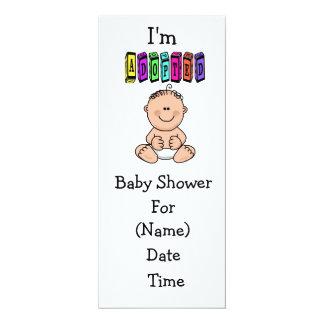 Baby Adoption Shower Invitation - Caucasian
