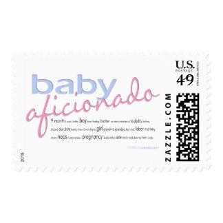 Baby Aficionado Postage Stamps
