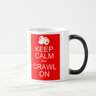 Baby AJ Keep Calm and Crawl On Mug