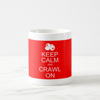 Baby AJ Keep Calm and Crawl On Mug