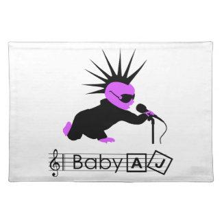 Baby AJ Punk Rocker Placemat
