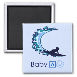 Baby AJ Surf's Up Magnet