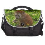 Baby Alaotran Gentle Lemur Laptop Commuter Bag