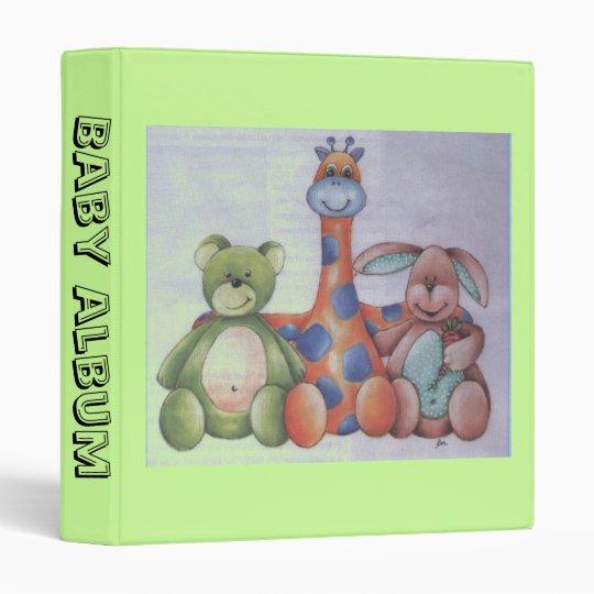 baby  album binder