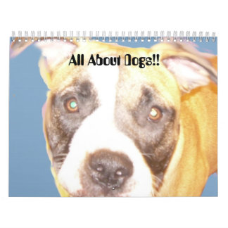 Baby, All About Dogs!! Wall Calendars