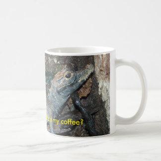 Baby Alligator Do I Seem Cranky Without My Coffee? Classic White Coffee Mug