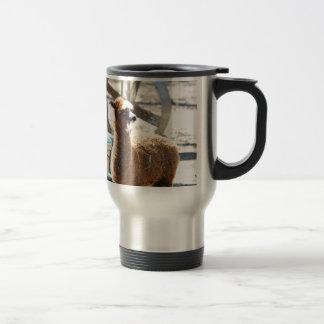 Baby Alpaca - Vicugna pacos Travel Mug
