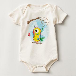 Baby American Apparel Organic Bodysuit, Natural Baby Bodysuit