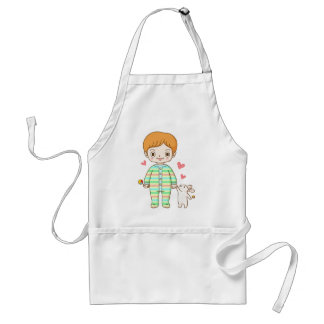 Baby And Bunny Apron