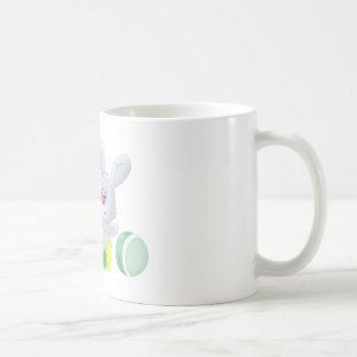 Baby and bunny coffee mug