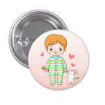 Baby And Bunny Pin