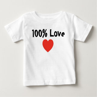 Baby and Kids: 100 Percent Love- Infant T-Shirt