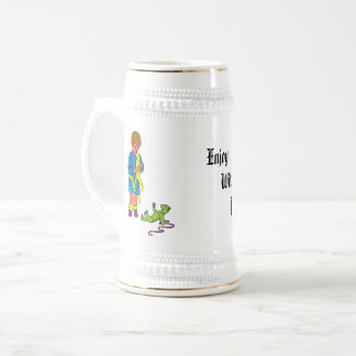 baby and pet beer stein
