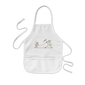 Baby and Stork Kids' Apron