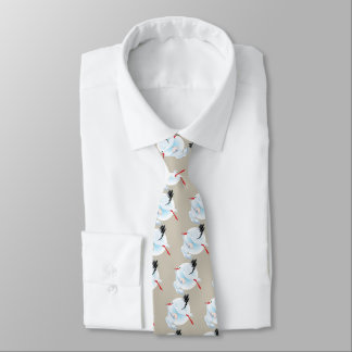Baby and Stork Tie