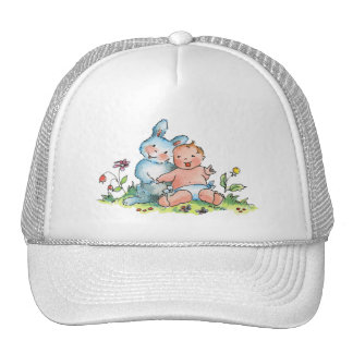 Baby and Sweet Bunny Hat