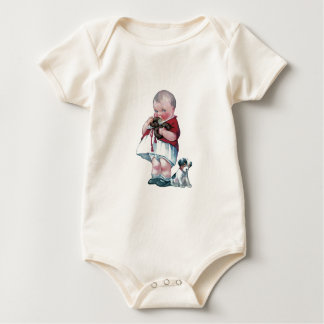 Baby and T-shirts with Vintage Design