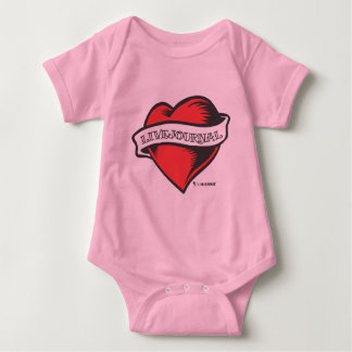 Baby and Toddler (LiveJournal Tattoo) Baby Bodysuit