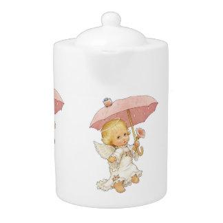 Baby Angel 4 Teapot
