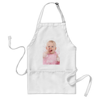 Baby Angel Clouds Adult Apron
