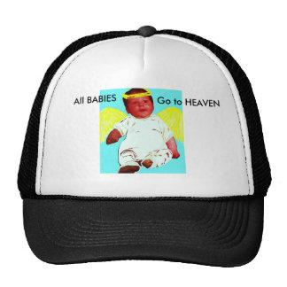 Baby Angel Guardian Hat