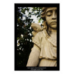 Baby Angel Statue Posters