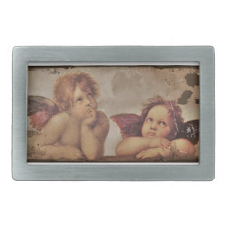 Baby Angels by Raphael Belt Buckle