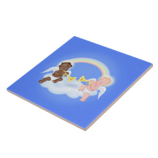 Baby Angels Tile