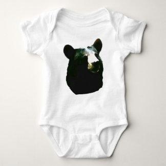 Baby Animal Black Bear Baby Bodysuit