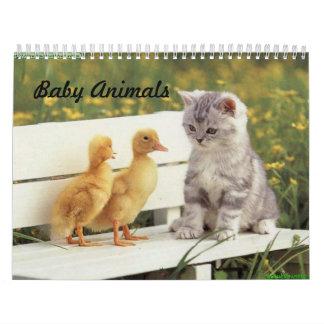 Baby Animal Calendar