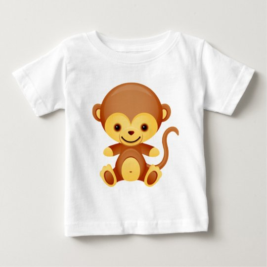 Baby Animal Monkey Baby T-Shirt