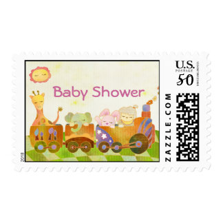 Baby Animals Baby Shower Postage Stamps
