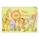 Baby Animals: Birthday Card for Children