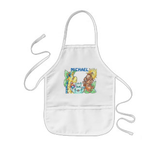 Baby Animals Personalized Kid's Apron