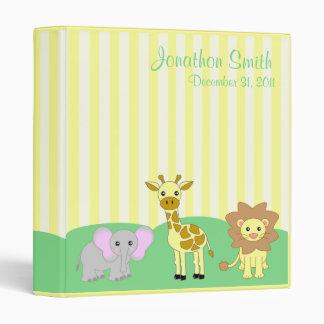 Baby Animals Photo / School Binder (TBA)