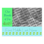 Baby Annoucement - Customized - Customized Business Card Templates