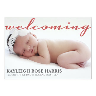 Baby Announcement | Baby Personalized Announcement