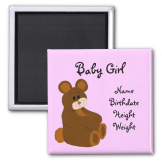 Baby Announcement Magnet