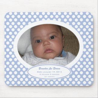 Baby Announcement Mousepad