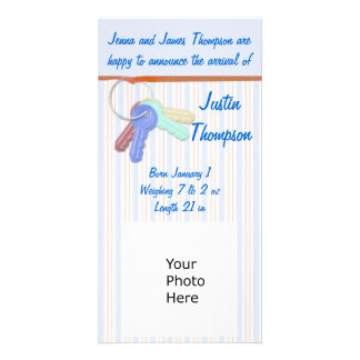 Baby Announcement Photocard Photo Card