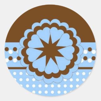 Baby Announcement Stickers :: Polk A Dot 2