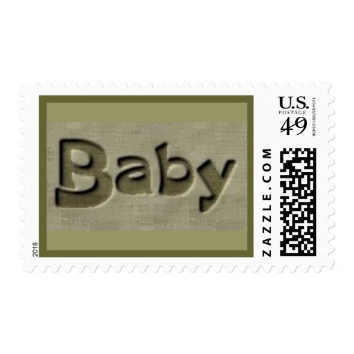 Baby Announcements Stamp