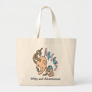 Baby Aries Large Tote Bag