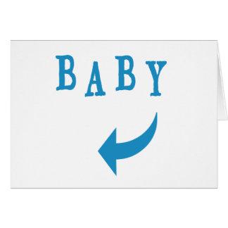 Baby Arrow Blue Card
