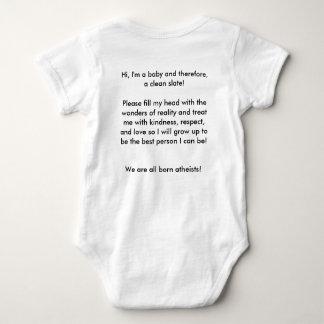 Baby Atheist one piece Baby Bodysuit
