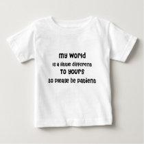 Baby, Autism, Aspergers, Special Needs Awareness Baby T-Shirt
