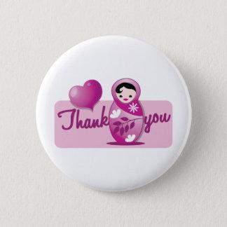 baby babushka thank you button